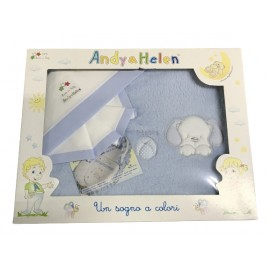 Layette baby cot 3 pcs with. White and pastel yellow