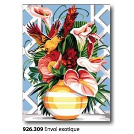 Canovaccio Plume exotique art. 926.308