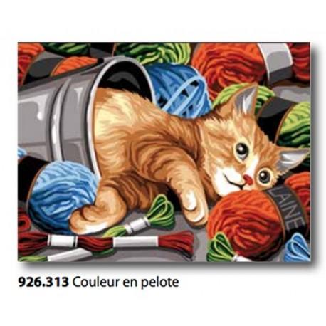 Tea towel Couleur en pelote art. 926.313