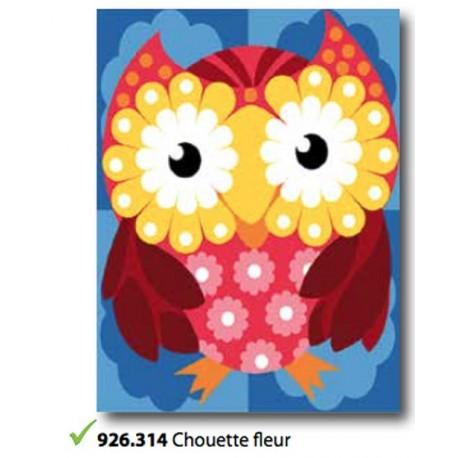 Cloth Chouette fleur art. 926.314