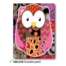 Cloth Chouette patch art. 926.318