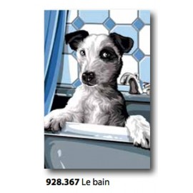 Tea towel Le bain art. 928.367