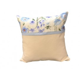 Pair of pillowcases two-tone yellow-brown
