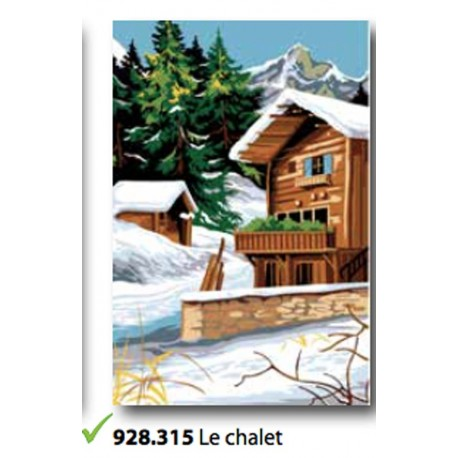 Canvas Le chalet art. 928.315