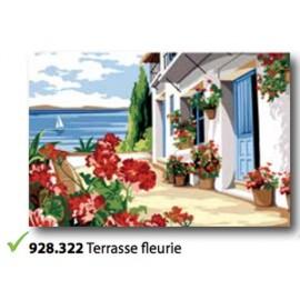 Canovaccio Terrasse fleurie art. 928.322