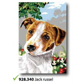 Canvas jack Russell art. 928.340