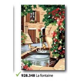 Canvas La fontaine art. 928.348