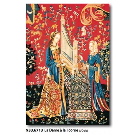 Canvas La Dame à la licorne art. 933.6713