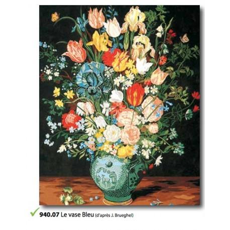 Canvas Le vase Bleu art. 940.07