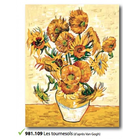Cloth Les tournesols art. 981.109