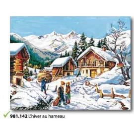 Canovaccio L'hiver au hameau fille art. 981.142