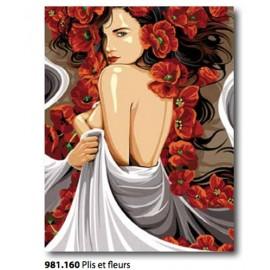 Cloth Ayudenme et fleurs art. 981.160
