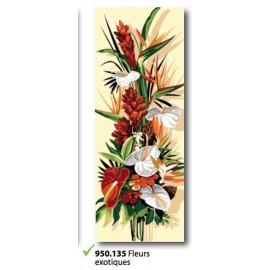 Canvas Fleurs exotique art. 950.135