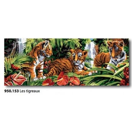 Cloth Les tigreaux art. 950.153