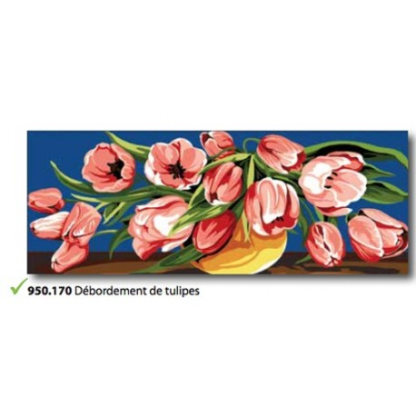 Cloth Débordement de tulipes art. 950.170