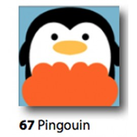 Kit Cloth Pingouin art. 7054.67