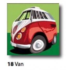 Kit Canovaccio Van art. 9223.18