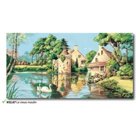 Canvas Le vieux moulin art. 932.67