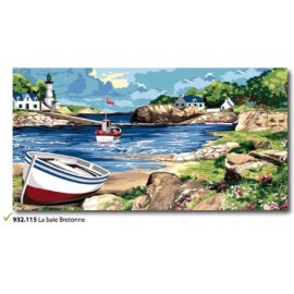 Canvas La baie bretonne art. 932.115