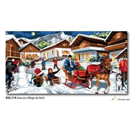 Canovaccio Jeux au village de bois art. 932.119