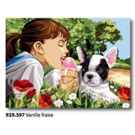 Canovaccio Vanille fraise art. 929.597