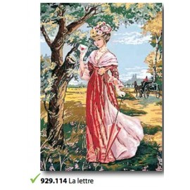 Canvas La lettre art. 929.114