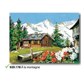Canvas In the mountains art. 929.178