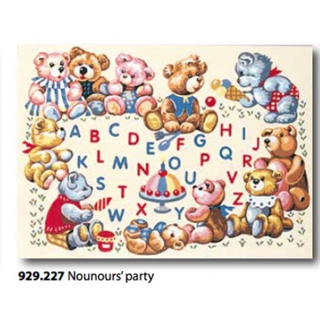 Cloth Nounours' party art. 929.227