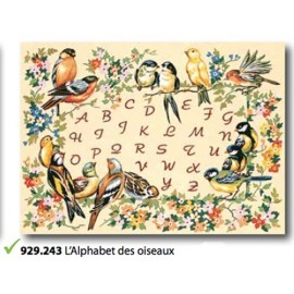 Plot The Alphabet des oiseaux art. 929.243