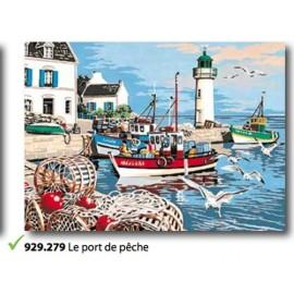 Toile Le port de pèche de l'art. 929.279