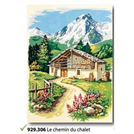 Cloth, Le chemin du chalet-art. 929.306