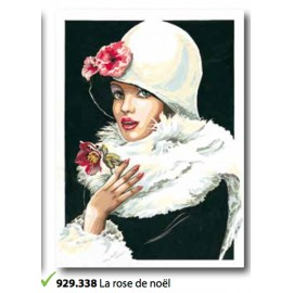Tea towel The rose de noel art. 929.338