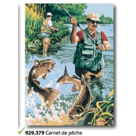 Canvas Carnet de peches art. 929.379