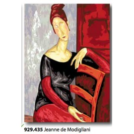 Plot Jeanne de Modigliani art. 929.435