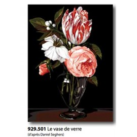 Canvas Le vase de verre art. 929.501