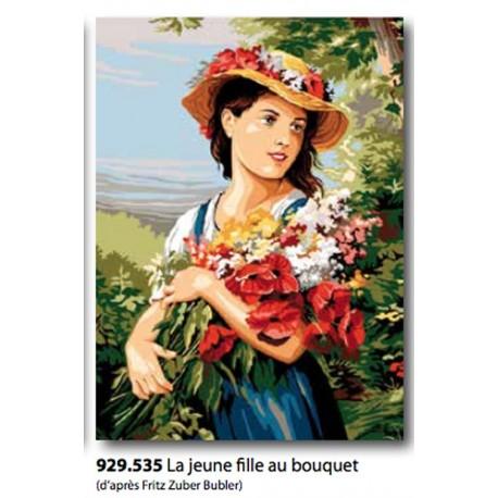 Canvas La jeune fille au bouquet art. 929.535