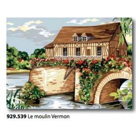 Canvas Le moulin Vermon art. 929.539
