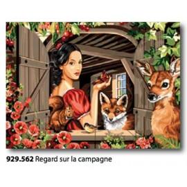 Canovaccio Regarde sur la campagne art. 929.562