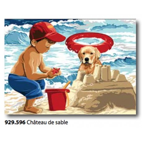 Canovaccio Chateau de sable art. 929.596
