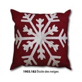 Kit cuscino Canovaccio Etoile des neiges art. 1903.182