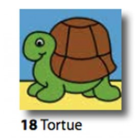 Kit Cloth Tortue art. 7054.18