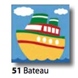 Kit Canovaccio Bateau art. 7054.51