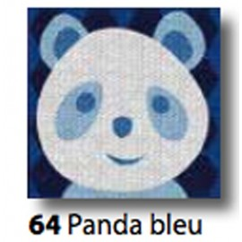 Kit tea Towel Panda bleu art. 7054.64