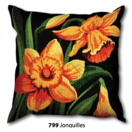 Kit Pillow canvas Jonquilles art. 273.799