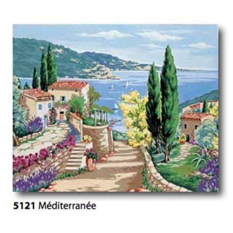 Canvas Mediterranean art. 134.5121