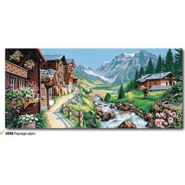 Canovaccio Paysage alpin art. 173.3098