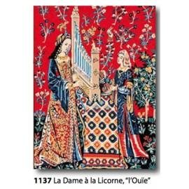 Canvas La dame à la licorne 'Ouier' art. 153.1137