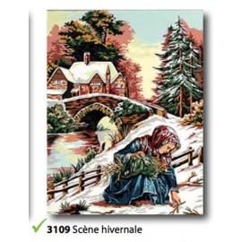 Cloth Scène hivernalart.133.3109