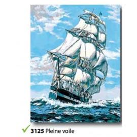 Tissu Pleine voile de l'art.133.3125