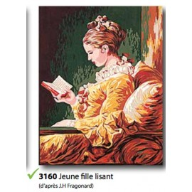 Canovaccio jeune fille lisant art.133.3160
